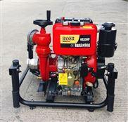 安徽3寸德國翰絲柴油機消防泵手抬式結構