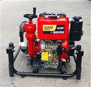 安徽3寸德国翰丝柴油机消防泵手抬式结构