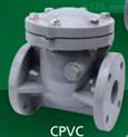 CPVC旋启式止回阀