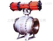 Q647M气动固定式球阀|气动球阀|固定式气动球阀