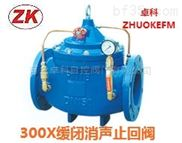H300X微阻緩閉蝶式消聲止回閥 廠家直銷