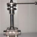 不锈钢低温焊接球阀