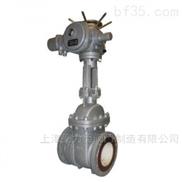 PZ941TC 电动陶瓷排渣闸阀