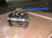Q41H锻钢三片式硬密封球阀