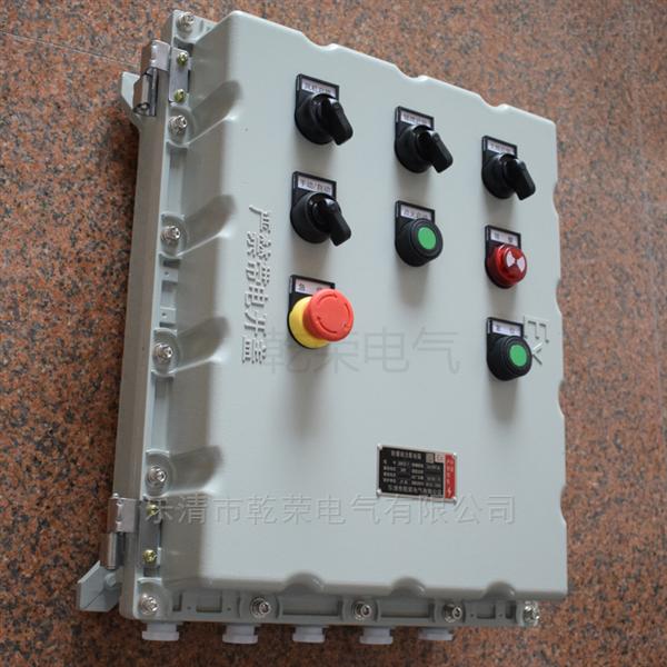 遠程控制污水泵防爆按鈕箱