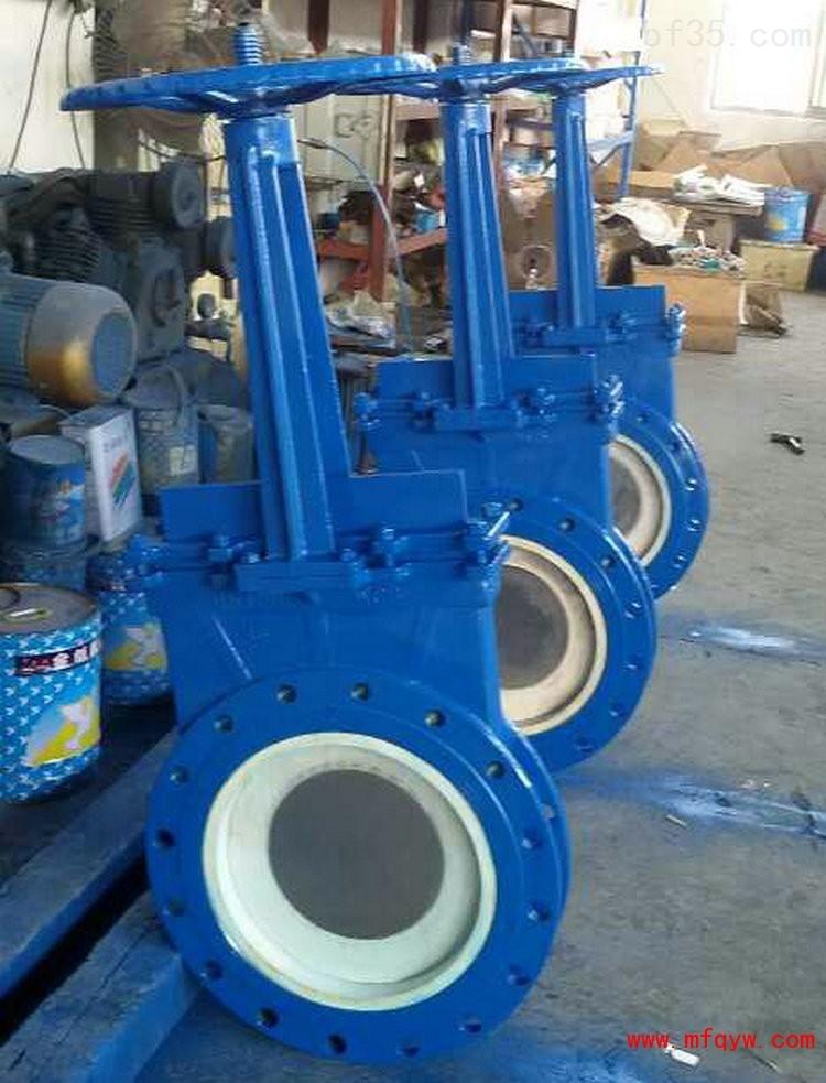 pz73tc薄型陶瓷排渣浆液阀-永嘉亚球泵阀有限公司图片