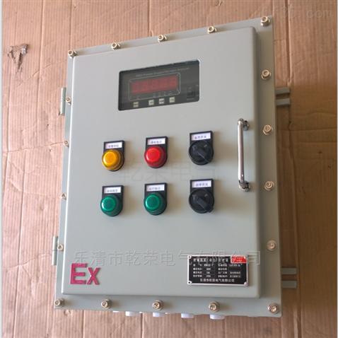 防爆控制箱智能儀表按鈕