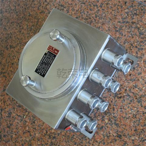 带密封电缆接头不锈钢防爆接线箱