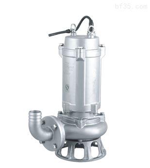 WQ無堵塞潛水排污泵