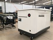 便攜式20千瓦低噪音汽油發電機組