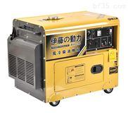 5kw移动式柴油静音发电机YT6800T